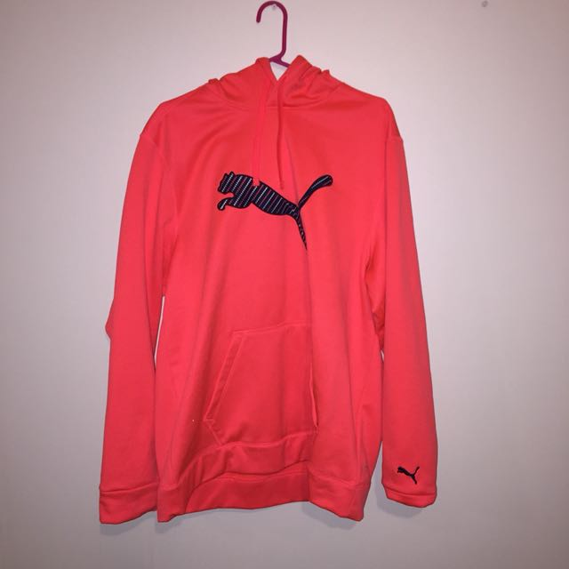 Orange puma jersey