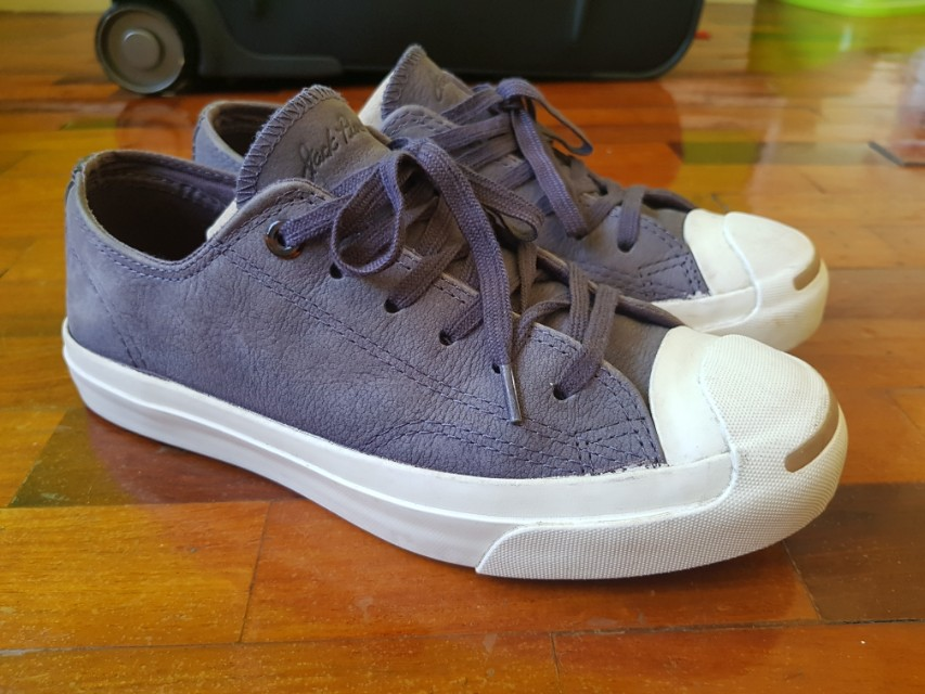 55c72b087c53 Original Converse Jack Purcell Leather Violet