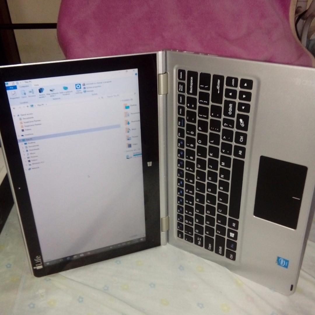 Original i life zed note laptop cum tablet