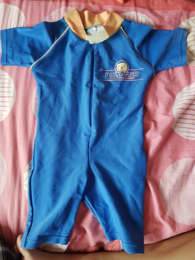 9b579bc4 Overall swim suit for 1 to 2 yo boy, Sports, Sports Apparel on Carousell