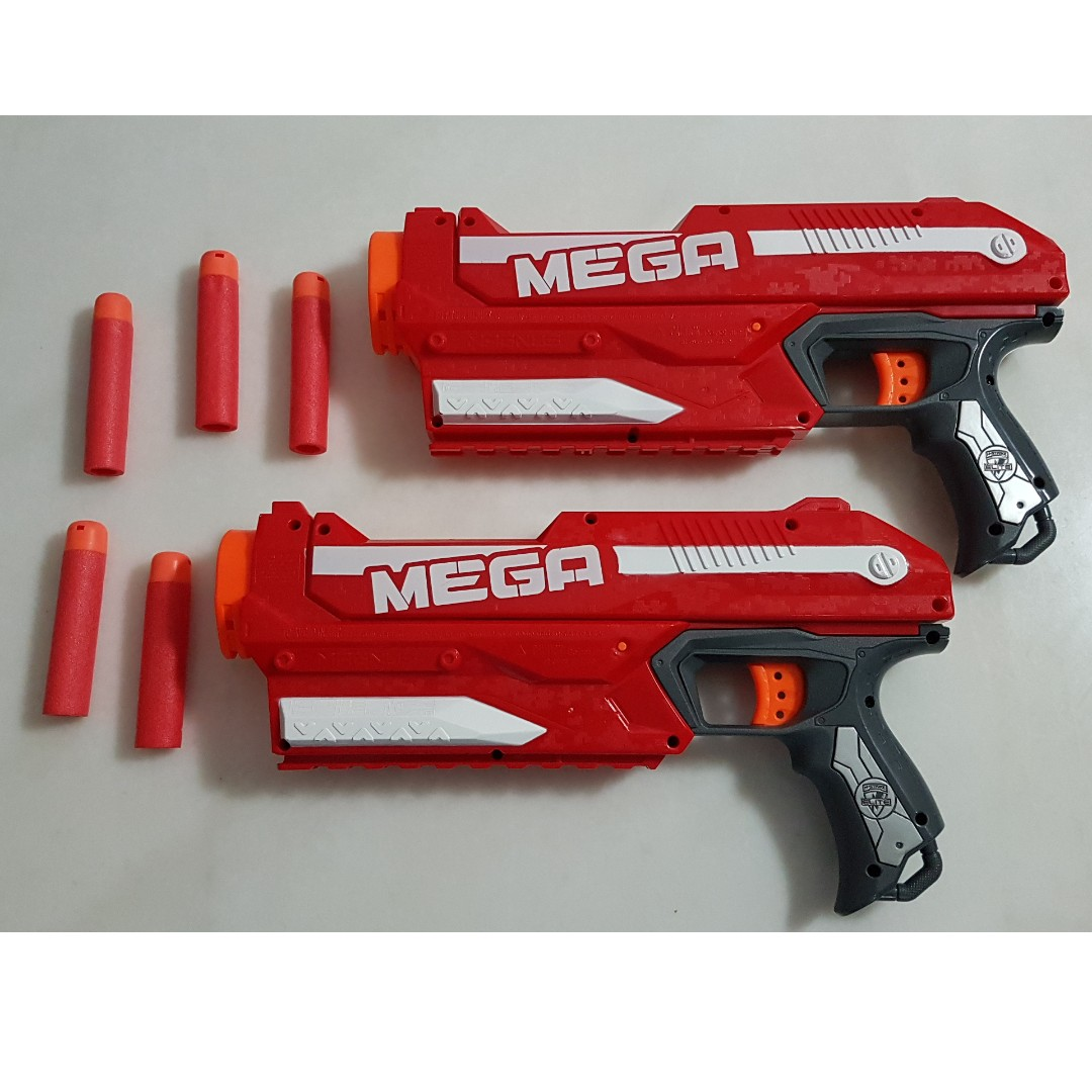Image is loading Nerf-Gun-N-Strike-Elite-MEGA-Magnus-Blaster-