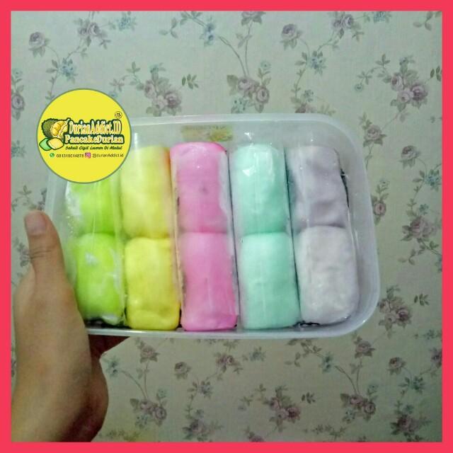 Pancake Durian Rainbow Isi 10