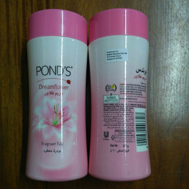 Pond's Dreamflower Fragrant Talc 200g