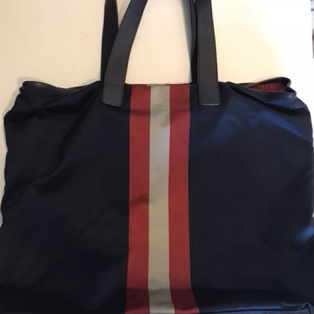 eb6a538e36 Pre-loved Bally Nylon Tote