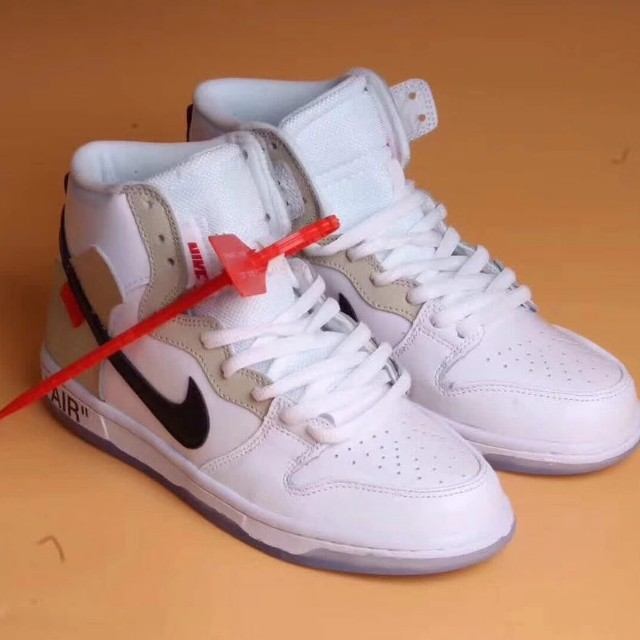d3a935d496f2 Premium Nike SB Dunk High Pro X Off White