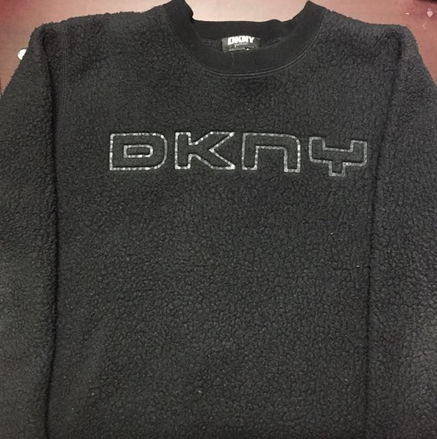 *Price Reduced* DNKY Black Crewneck Sweater
