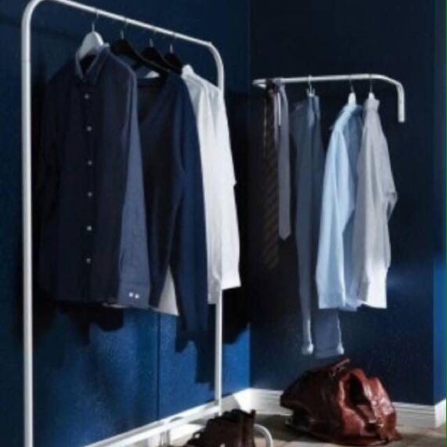 Ikea Mulig Rak Pakaian Baju 99x46 Cm Putih Daftar Update Harga