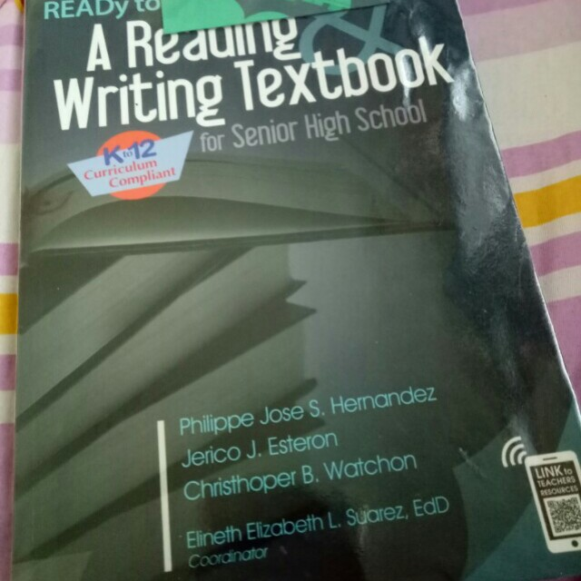 Reading Writing Textbook