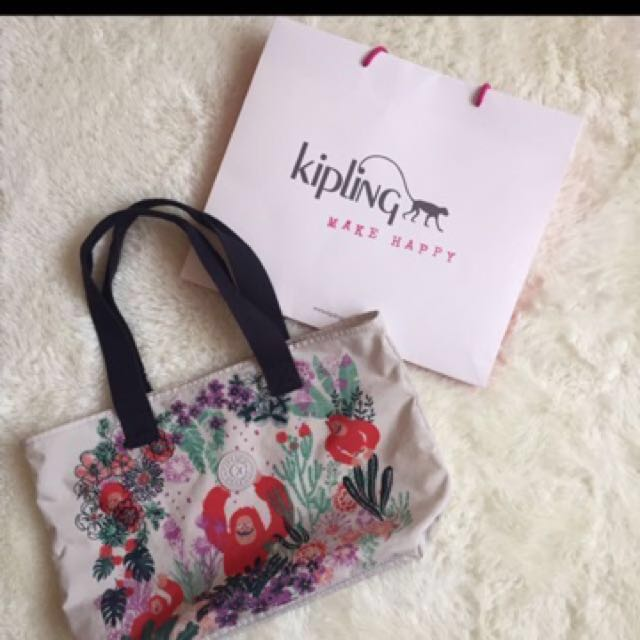 Repriced!!!!Authentic Kipling Large tote bag