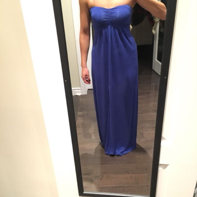 Royal Blue Maxi Dress from Mendocino