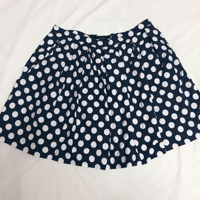 SALE: Forever 21 Polka Dots Skirt