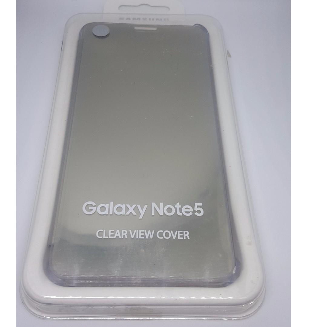 big sale ee11e 1017b Samsung Note 5 original clear flip cover
