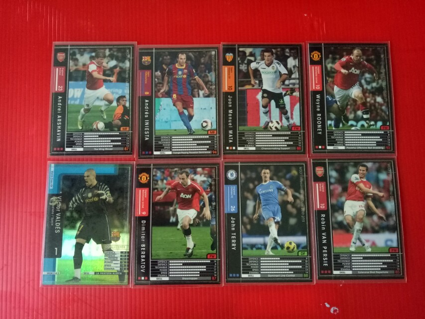 Soccer cards for sale