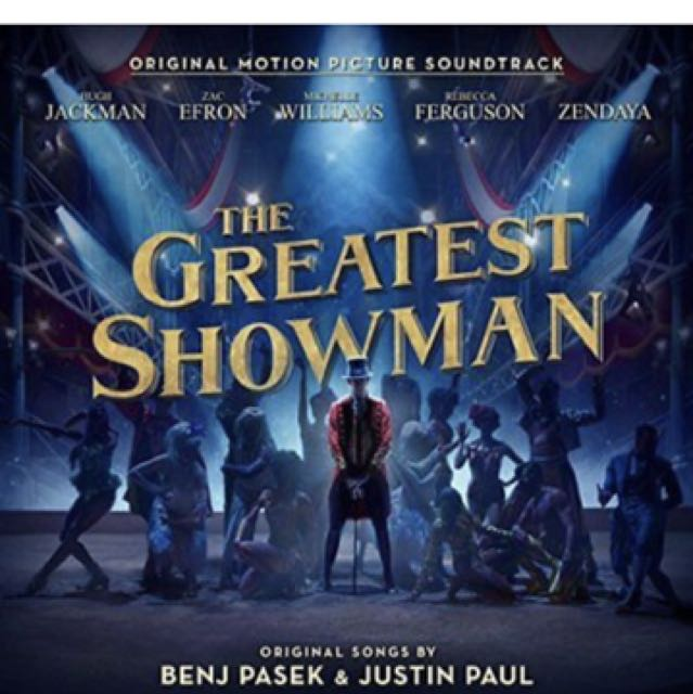 """Soundtrack of """"The Greatest Showman"""" CD"""