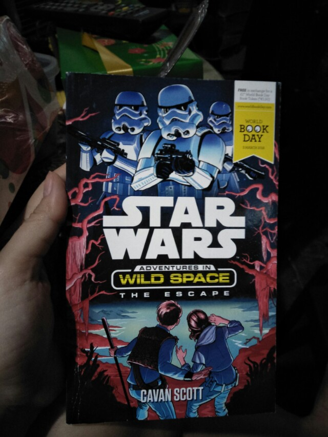 Star Wars book collection item