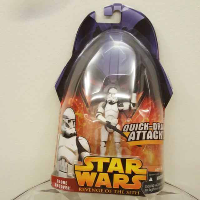 Star Wars Revenge of the Sith Clone Trooper