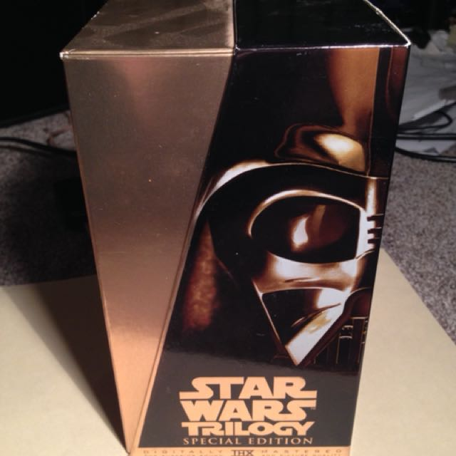 Star Wars Special Edition VHS Xollecrion