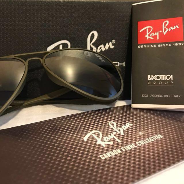 bc2ea2e93930 ... uk authentic ray ban aviator sunglasses mens fashion accessories on  carousell 0535c e912b