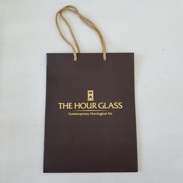 The Hour Glass Paperbag