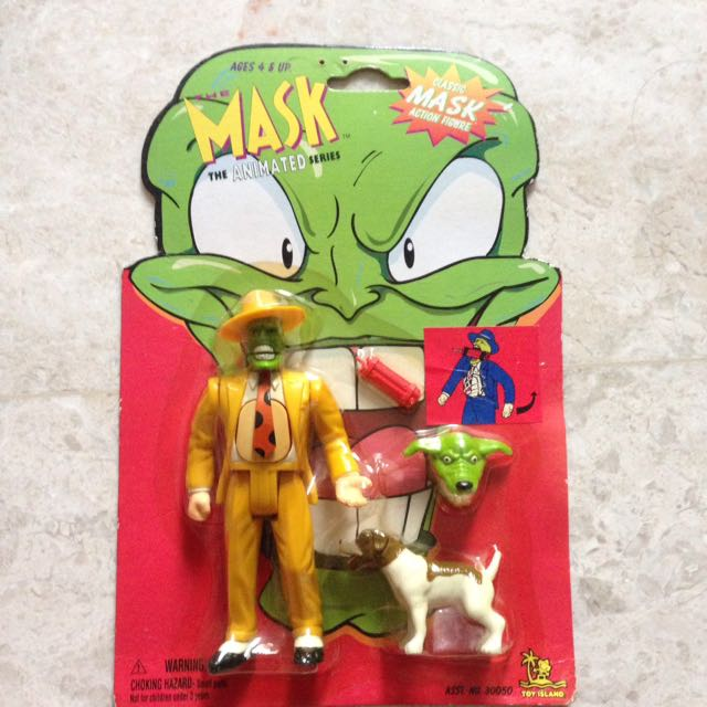 the mask animated series head up mask toys games bricks