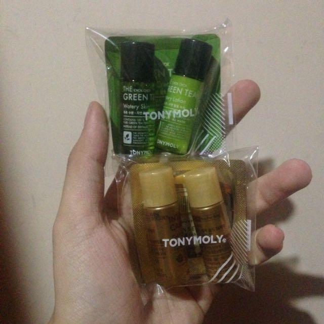 TONYMOLY Chok Chok Green Tea & Intense Care
