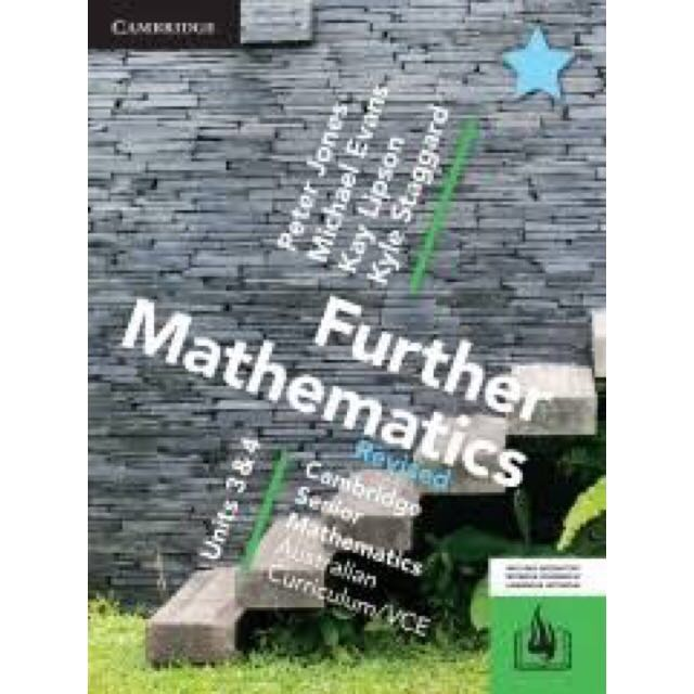 VCE Further Maths PDF Units 3 & 4