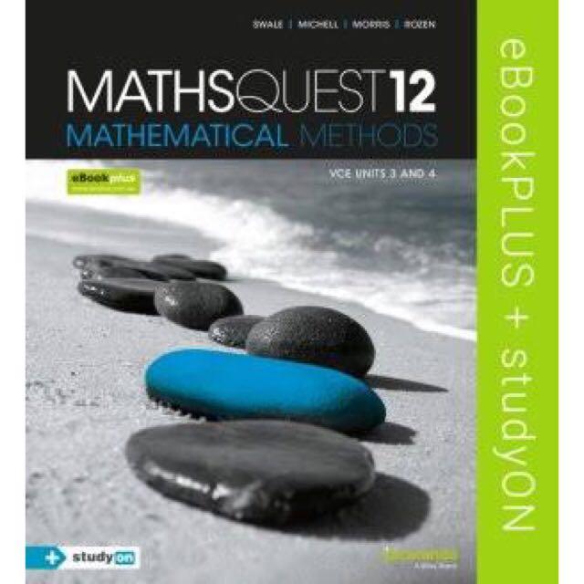 VCE Maths Methods PDF Units 3 & 4