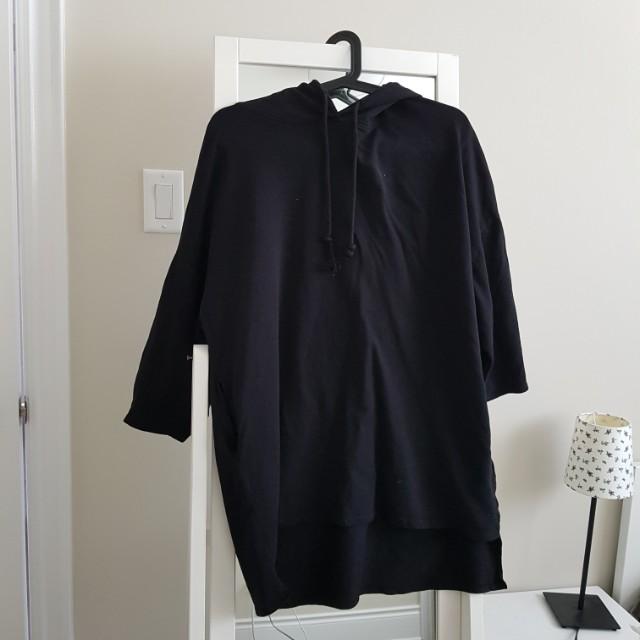 ZARA | Black hoodie