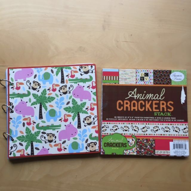Zoo-themed Scrapbooking Pack