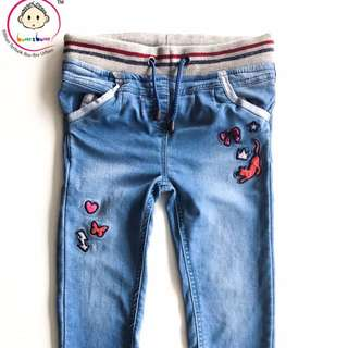 Pull up jeans