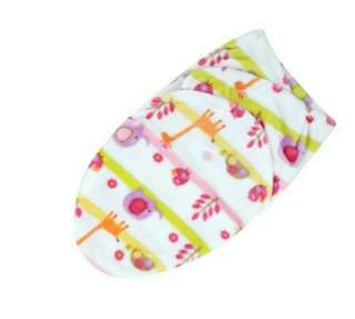 Newborn baby swaddling blanket