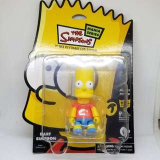 100%New & Real Simpson 3' 吋 keychain collection 2007