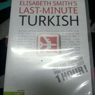 Teach yourself Turkish!