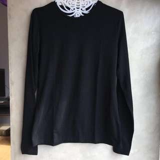 H&M Basic Long Sleeve kaos tangan panjang