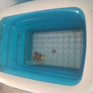 kolam renang anak INTIME (gratis pompa dan termometer)