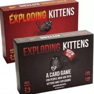 Exploding Kitten, All Kind Board Game and Extension