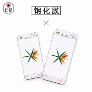 EXO iphone screen protector by 【粉萌】