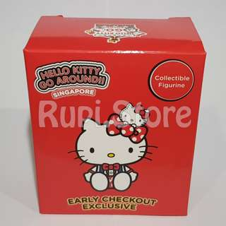 Sanrio - Hello Kitty figurine (Singapore 50th Edition) - Early Checkout Exclusive (Red)