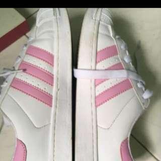 Adidas (inspired) pink shoe
