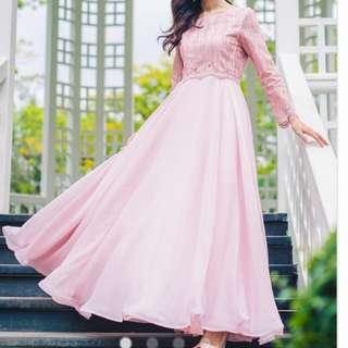 🚚 Princess chiffon a line dress