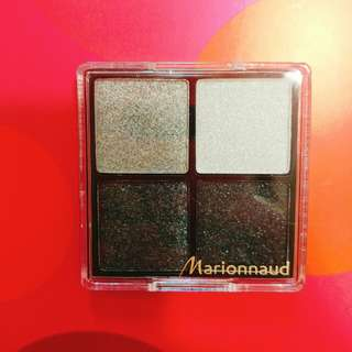 Marionnaud 四色眼影 Eyeshadow  smoky eyes