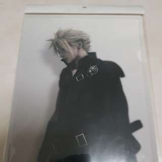 Cloud Strife Final Fantasy Advent Children Document Holder