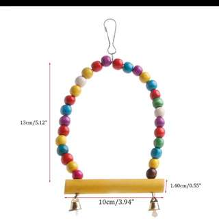 $10 Bird Toy Each  2nd Purchase With 10% Discounts.  Free Postage Delivery (At Buyer's Risk). Or Meet Up At Sengkang MRT.