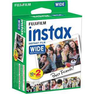 Instax Wide Film (Box of 20 pcs)