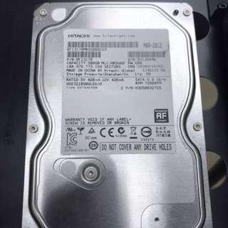 Hitachi 500 GB 7200RPM hard disk SATA 3
