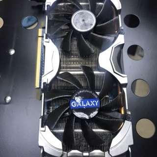 Galaxy 顯咭 graphic card GTX 500 Series