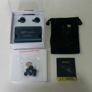 TWS - X2T 無線迷你藍牙耳機Wireless Mini Bluetooth 4.2 Stereo Headset