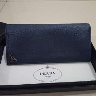 Prada Men Long Wallet