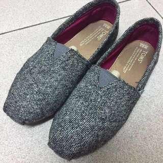 Toms 經典 帆布鞋 懶人鞋 帆布系列 粗面七彩