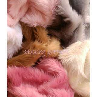 Fur Fabric For Flat Lays